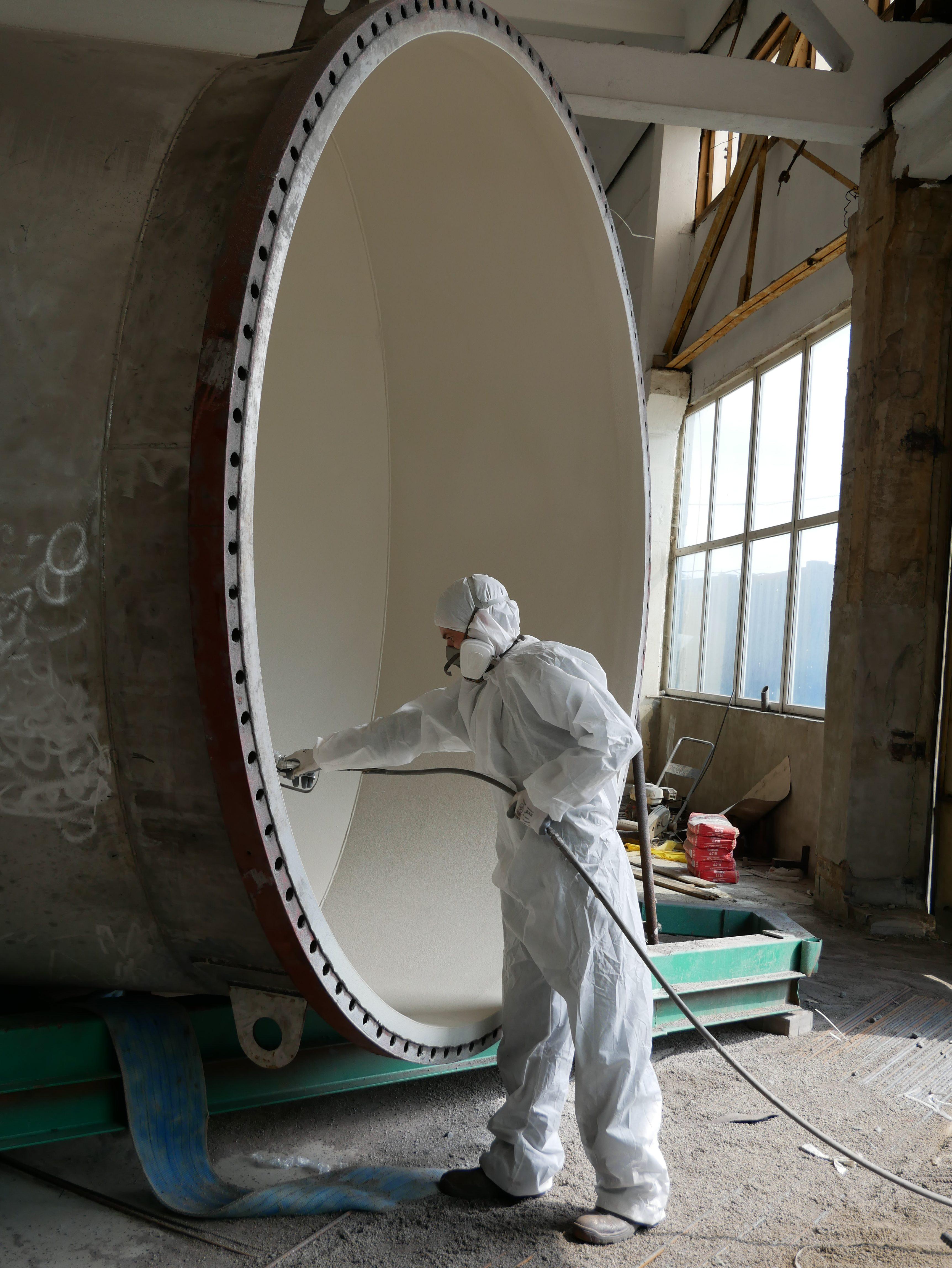 ПАССАТСТАЛЬ защищает отводы большого диаметра