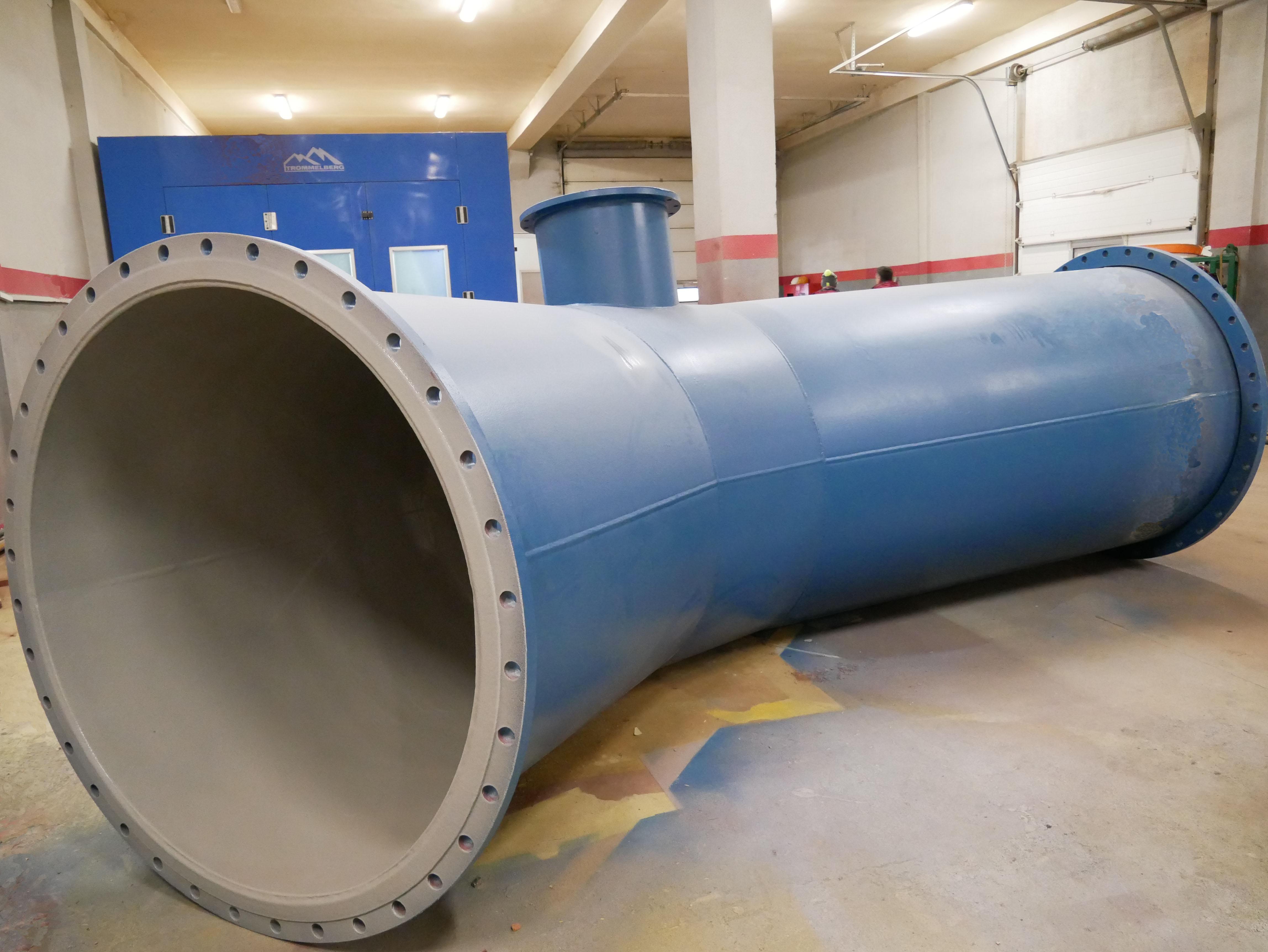 внешняя защита трубопровода