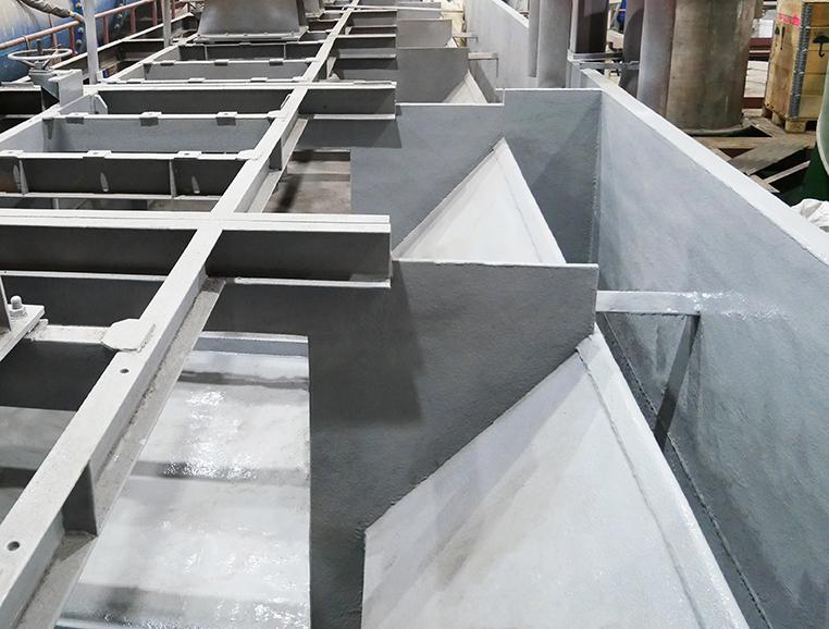 Антикоррозионная защита технологического обогатительного оборудования
