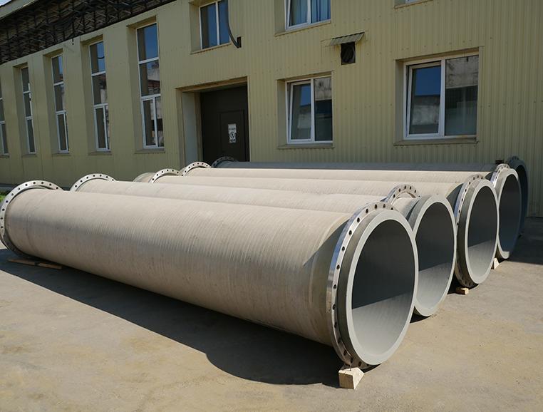 Выполнены работы по футеровке стеклопластиковых труб и металлических лотков